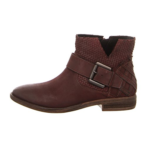 SpmCalvados Ankle Boot - Stivaletti Donna , Rosso (borgogna), 42 EU