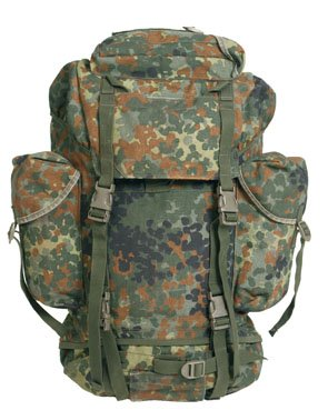 Bw Kampfrucksack 1000D Flecktarn