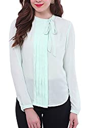 Colors Couture Green Moon Soon Blouse