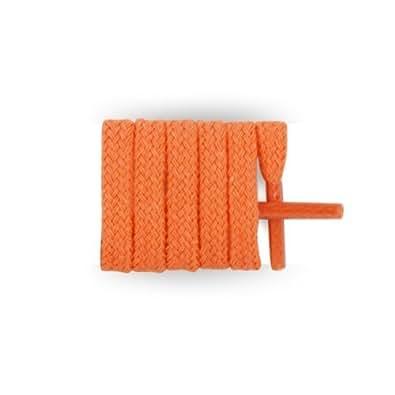 Mylaces - Flat Thin Laces 120 Cm Orange Mandarine
