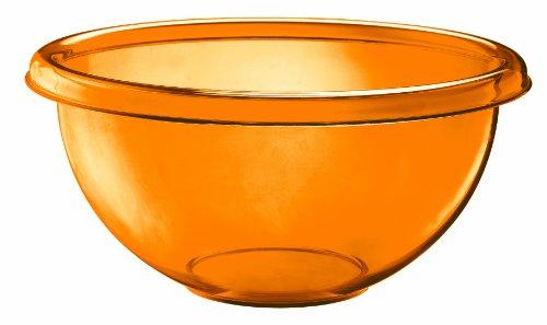 Guzzini Happy Hour 13-1/4-Inch D Salad Bowl, Orange