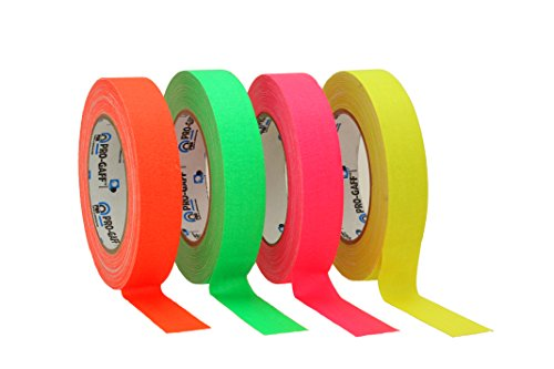 protapes-permacel-gaff-nastro-adesivo-in-tessuto-impermeabile-fluorescente-24-mm-x-23-m-verde-aranci