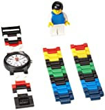 LEGO Kids 4193356 Soccer Watch With Minifigure