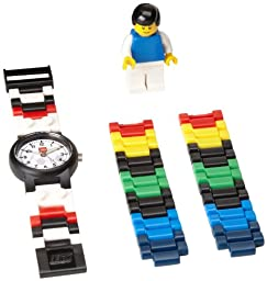 LEGO Kids\' 4193356 Soccer Watch With Minifigure Link
