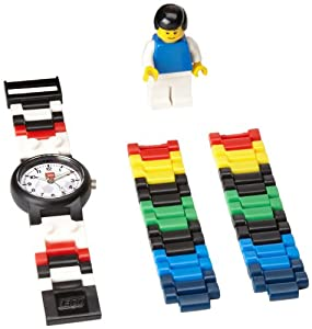 "LEGO Kids' 4193356 ""Soccer"" Watch With Minifigure"