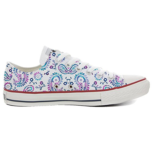 Converse All Star Hi chaussures coutume (produit artisanal) Watercolor