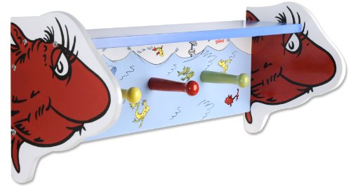 Great Features Of Trend Lab Dr. Seuss Shelf, One Fish Two Fish