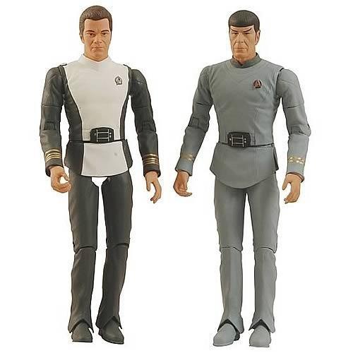 Picture of ASY17709 Star Trek The Motion Picture Kirk & Spock Action Figure 2 pack Art Asylum (B002UZHSXA) (Star Trek Action Figures)