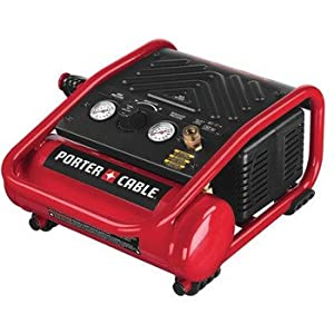 PORTER-CABLE C1010 Heavy-Duty 1-Gallon 135 PSI Max Quiet Trim Compressor from PORTER-CABLE
