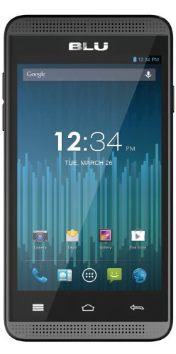 Blu Dash Music 4.0 D272A Unlocked Dual Sim Phone (Black)