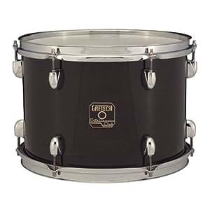 gretsch drums ct 0812t ge 12 inch drum set rack tom tom gloss ebony musical. Black Bedroom Furniture Sets. Home Design Ideas