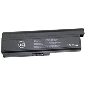 Battery Tech Notebook battery for Toshiba Equium U400, Satellite M300, M300/J00, M305, U400, U405 and Satellite Pro M300, U400 (TS-M305X9)