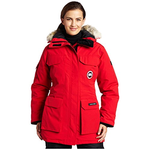 Canada Goose mens outlet 2016 - Canada Goose Women's Expedition Parka,Red,Small (B001TV0BXA ...