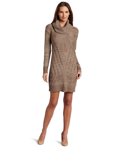 df51ff5a1be Jessica Simpson Women s Cowl Neck Sweater Dress