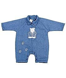 Tillu Pillu Unisex Body Suit (KDC_68_Blue_3-6 Months)