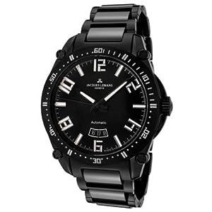 Jacques Lemans Men's G-333F Tempora Sport Analog Automatic Sapphire Glass Watch