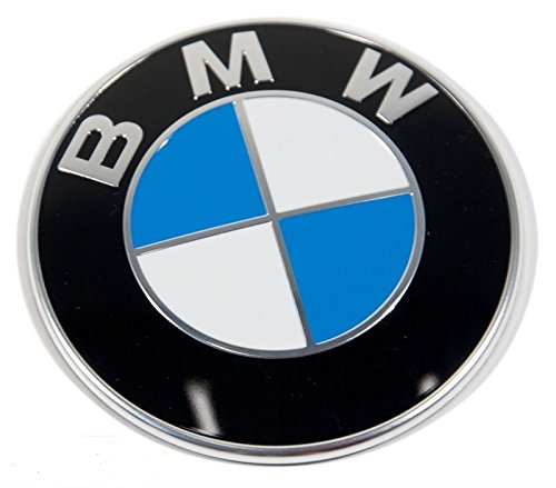 100 original bmw emblem logo original bmw on hood 82mm. Black Bedroom Furniture Sets. Home Design Ideas