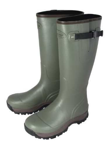 Jack Pyke Fieldman Fishing/Hunting Wellington Wellie Boots (3mm Neoprene Lining)