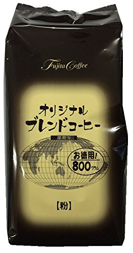 藤田珈琲 オリジナルブレンドコーヒー 深煎り 徳用 800g