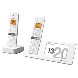 シャープ JD-4C2CW-W  コードレス電話機