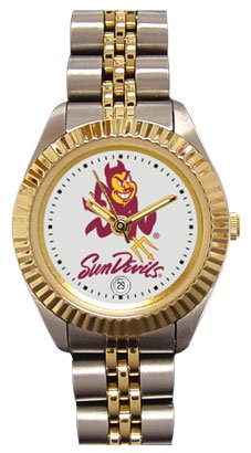 Arizona State University Sun Devils Ladies Executive Stainless Steel Sports Watch