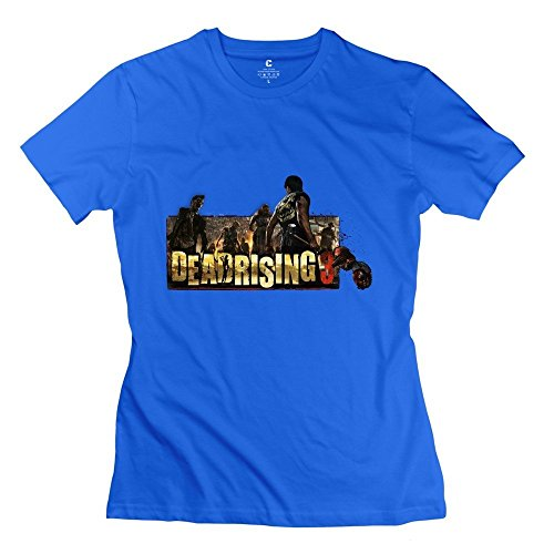 Dead Rising Hot Topic Roundneck RoyalBlue Tees For Adult Size M (Dead Rising Merchandise compare prices)