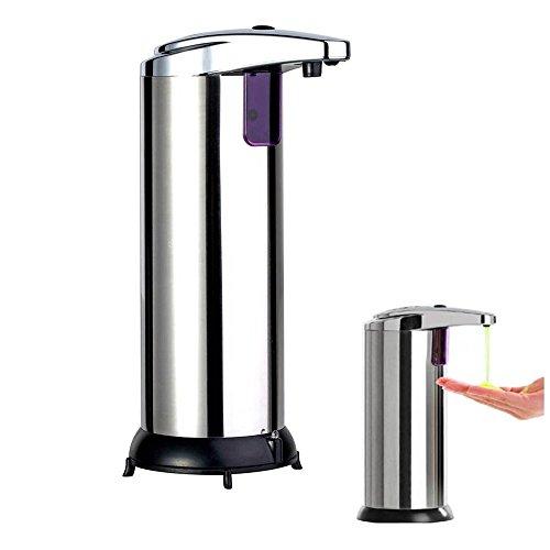BeGrit Autosoap - Stainless Steel Hands Free Automatic IR Sensor Touchless Soap Liquid Dispenser (Touchless Sensor Pump compare prices)