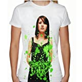 Bring Me The Horizon Suicide Season Green Official Ladies Skinny Fit Import T Shirt
