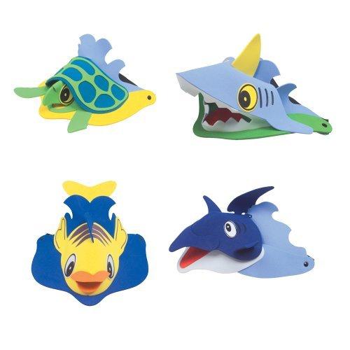 Rhode-Island-Novelty-Sea-Animal-Visors-Ocean-Creature-Hat-Costume-Party-Favor-1-Dozen