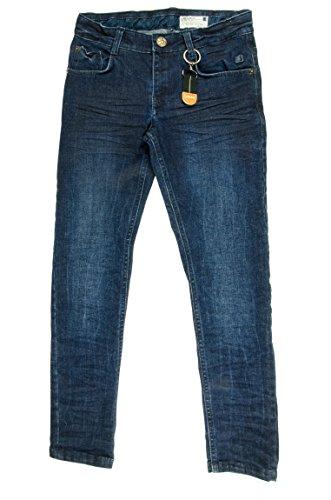 Lemmi Jungen Jeans Hose Boys Skinny mid, Gr. 176, Blau (dark blue denim|blue 0012)