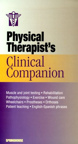 Physical Therapist's Clinical Companion, 2000