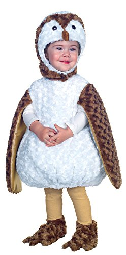 unisex-baby - White Barn Owl Toddler Costume 18-24 Months Halloween