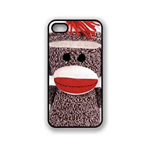 Houseofcases Sock Monkey iPhone 5 & 5S Case - Fits iPhone 5 & 5S