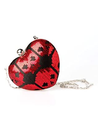 Iron Fist Digiskull Hardshell Heart Bag - Red
