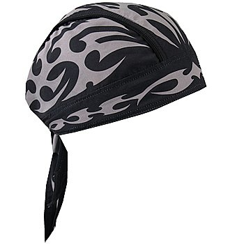 Tribal Lightweight Headwrap Motorcyle Accessory with Sweatband