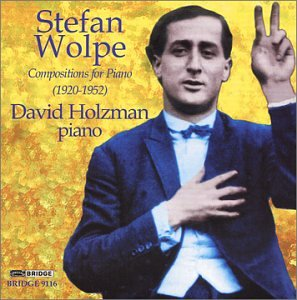 "Cover of ""Stefan Wolpe: Compositions for ..."