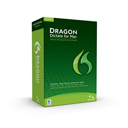 Dragon Dictate, Version 3.0 (Mac)