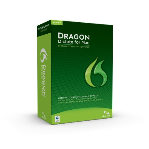 NUANCE COMMUNICATIONS Dragon Dictate for Mac 3.0 with KeyCard