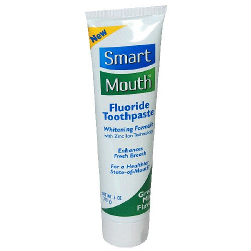 SmartMouth Toothpaste, Mint, 6-Ounce Tubes  (Pack