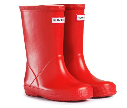 Hunter Red Girls Boys Kids First Wellies Size UK 5 Euro 22 Childrens Hunter Wellington Boots
