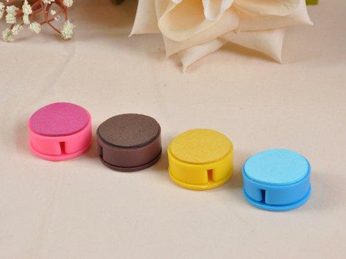 Korean Fashion Cute Candy Colored Earphone Winder Phone Screen Wipe 6Pcs