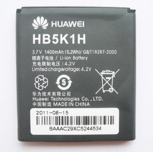 Oem Huawei Hb5K1H Battery For M865 Ascend 2 Ii, Sonic U8650 C8650