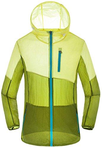 ZSHOW-Femme-Veste--Capuche-de-Sport-Lger-Protection-UV-Coupe-Vent--Schage-Rapide-Zip