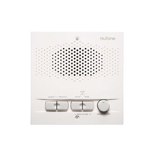 Nutone NPS103WH Outdoor Remote Station Retrofit for 3-Wire Intercom Systems - White (Nutone Retrofit Intercom compare prices)