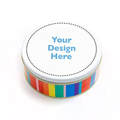 Dylan's Candy Bar Personalizable 3-Way Treat Tin - Gummy Mix