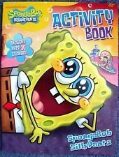 SpongeBob SquarePants Activity Book ~ SpongeBob SillyPants (Includes Over 30 Stickers) - 1