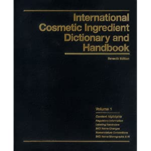 international cosmetic ingredient dictionary and handbook pdf