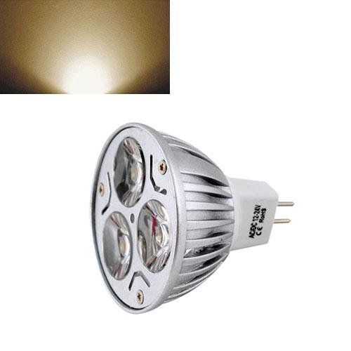 Ultra Bright Mr16 6W Led Spot Light Downlight Lamp Bulb Warm White 12V F2Home Useful