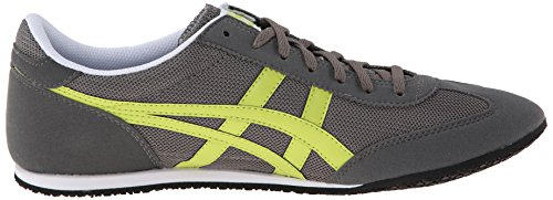 new arrivals dc89d 5a5c6 Onitsuka Tiger Machu Racer Classic Running Shoe, Grey/Lime, 8.5 M US |  $43.99 - Buy today!