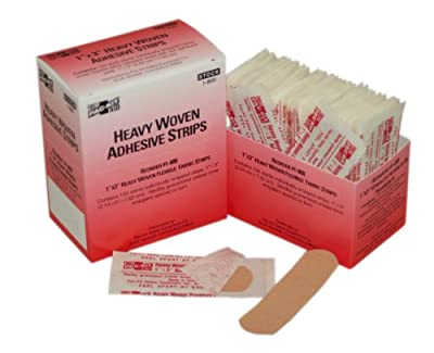 "Pac-Kit by First Aid Only 1-800 Woven Bandage, 3"" Length x 1"" Width (Box of 100) by Pac-Kit"